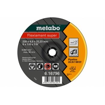 Обдирочный круг METABO Flexiamant Super, труба (616795000)